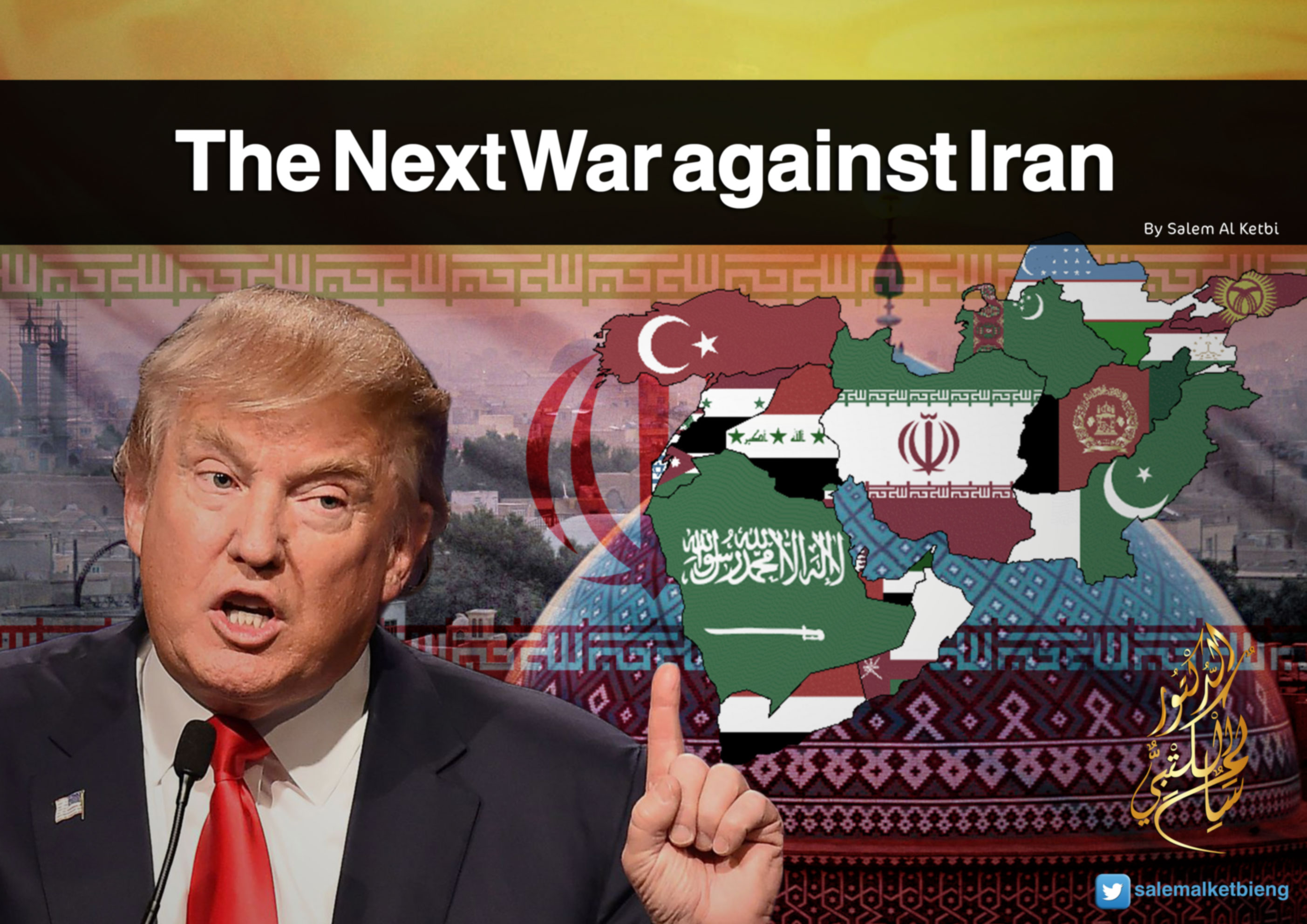 Bildergebnis für DONALD TRUMP AT WAR AGAINST IRAN